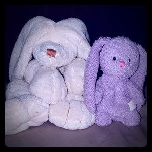 *2 Adorable Stuffed Bunnies!*
